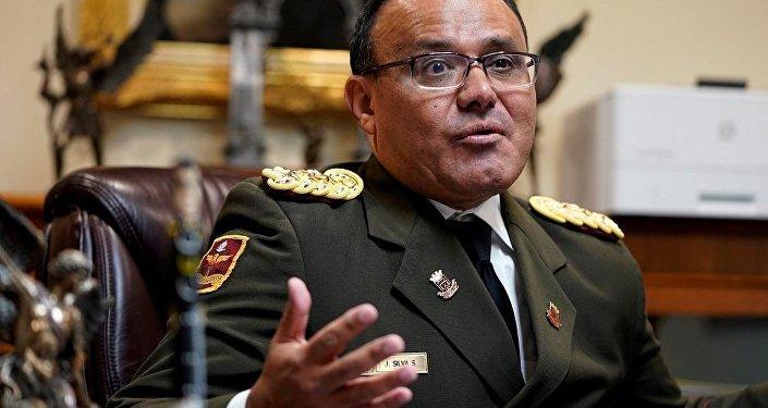 委内瑞拉驻美国国防武官何塞∙路易斯∙席尔瓦