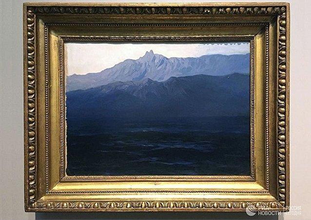 阿尔希普·库因芝画《克里米亚-艾佩特里峰》