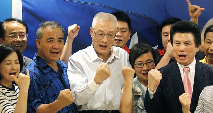 台湾政治人物在华盛顿寻找什么?