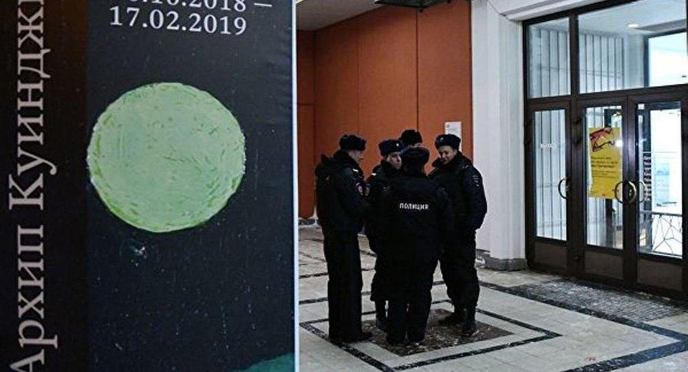 特列季亚科夫画廊的画作被装上俄罗斯防盗系统