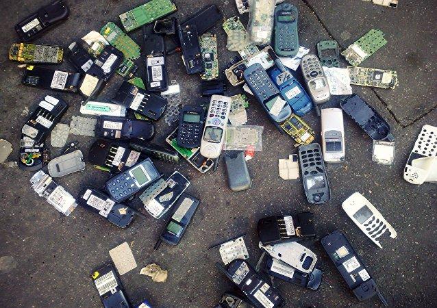電子品成垃圾