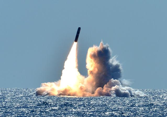 三叉戟飞弹发射(资料图片)