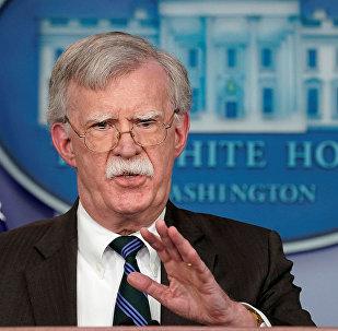 美国总统国家安全顾问约翰?博尔顿