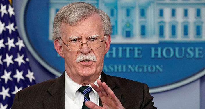 美国总统国家安全顾问约翰•博尔顿