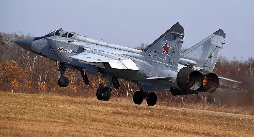 """""""米格-31BM""""截击机"""