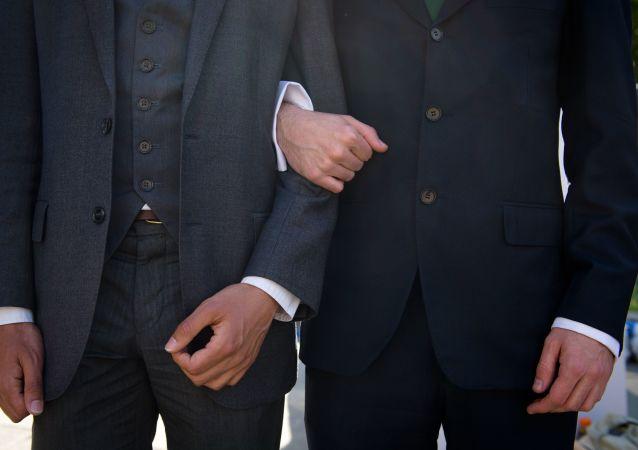 """华媒:台湾地区通过""""同性婚姻专法"""""""