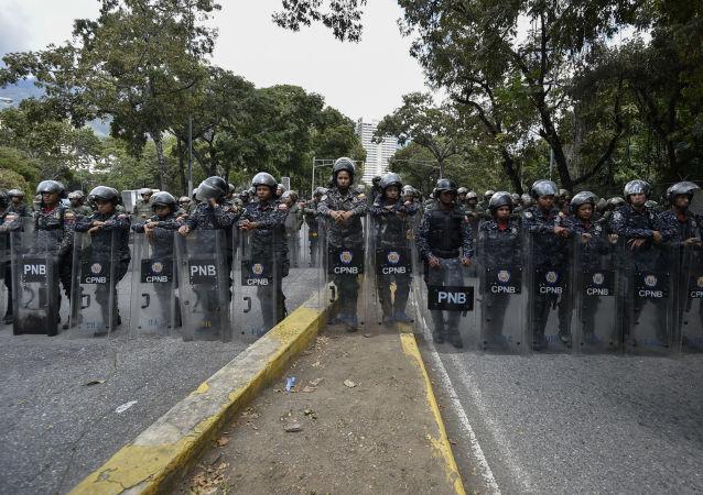 委国民警卫队控制委内瑞拉与哥伦比亚边界上的局势