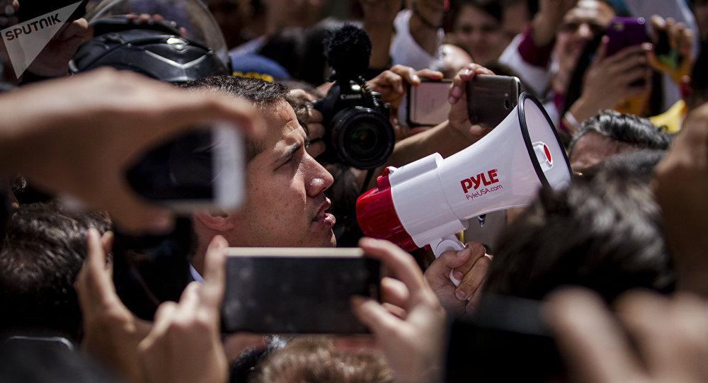 委內瑞拉駐俄大使:瓜伊多10年前被美國收買成為其傀儡