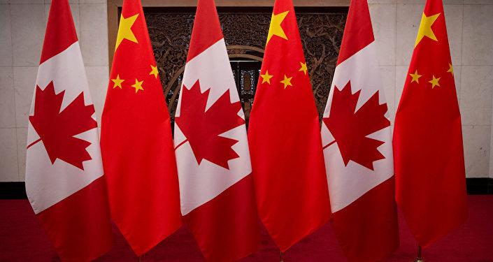 加拿大求美國幫助解決與中國的關係