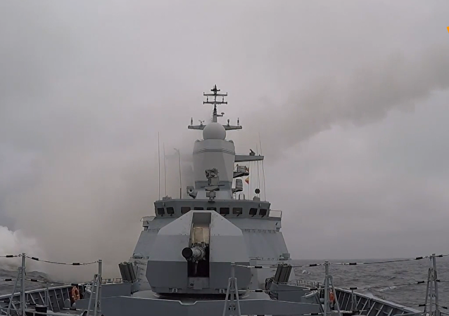 俄導彈護衛艦波羅的海演習