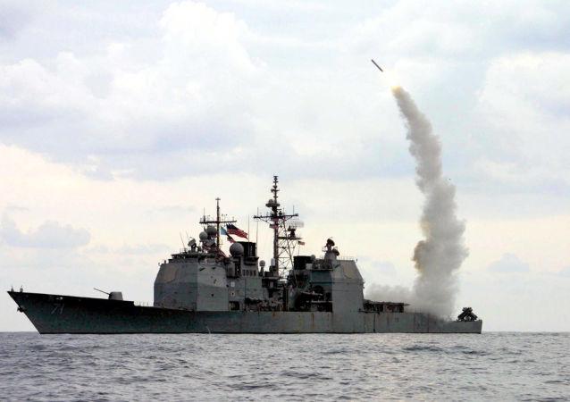 战斧巡航导弹发射(资料图片)