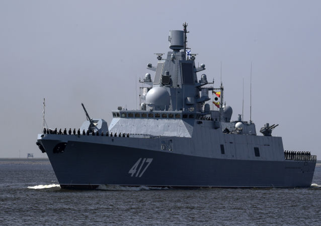 """""""海军上将戈尔什科夫""""护卫舰"""