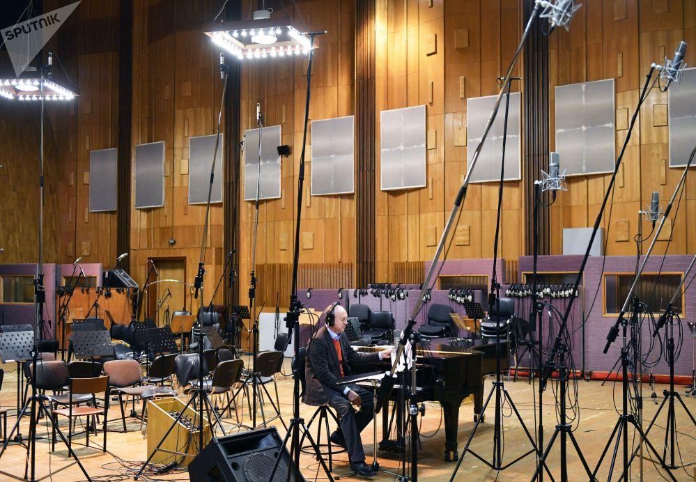 莫斯科電影製片廠的音樂工作室