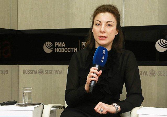 俄罗斯青年联盟副主席塔季扬娜∙谢利维奥尔斯托娃