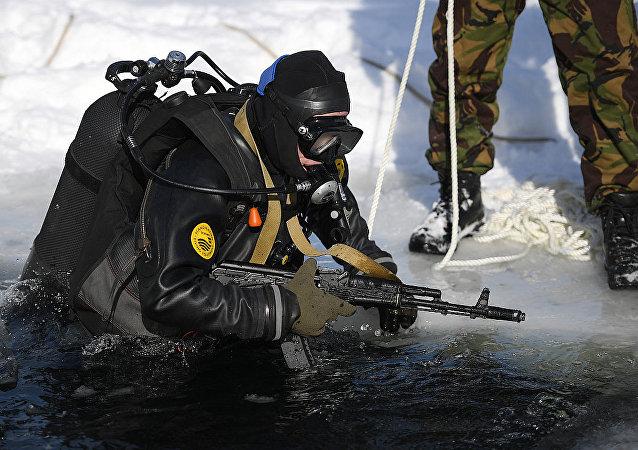 俄羅斯戰鬥潛水員