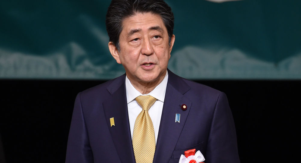 日本首相:希望与俄罗斯划定国界