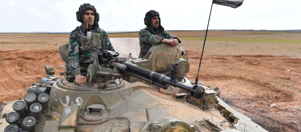 叙利亚军队(资料图片)