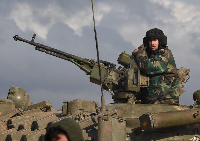 叙利亚军队击退哈马省北部武装分子袭击