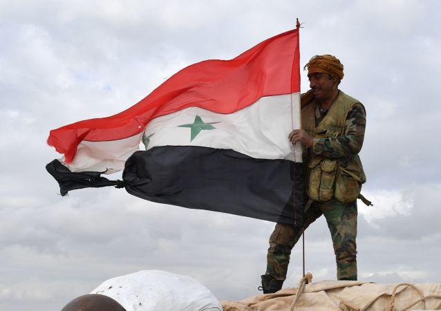 叙政府军人