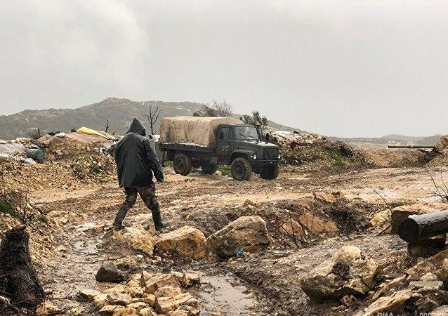 俄國防部否認俄空天軍空襲敘伊德利卜的消息