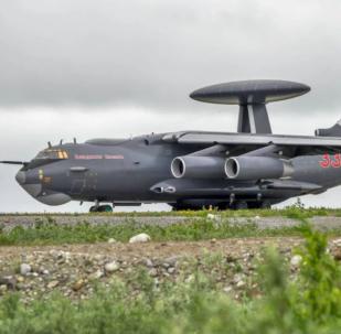 """雷达侦察和制导控制系统的A-100型""""首相""""预警机"""