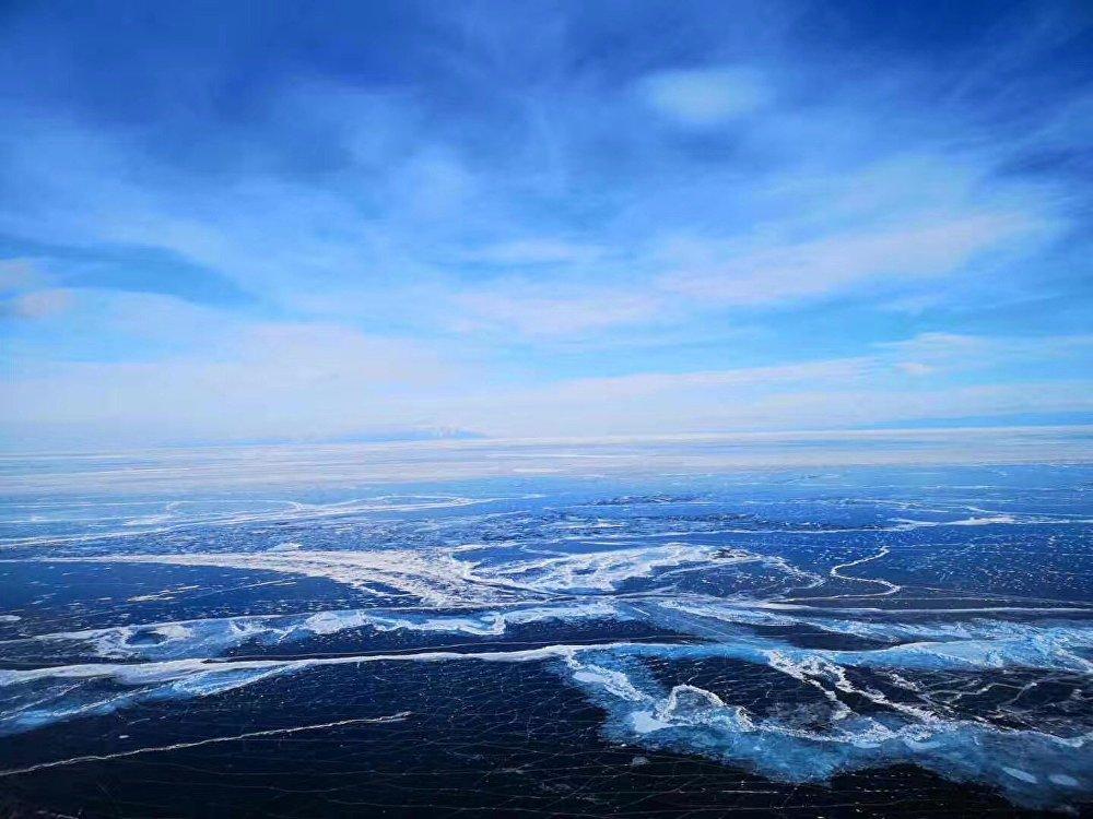 貝加爾湖藍冰