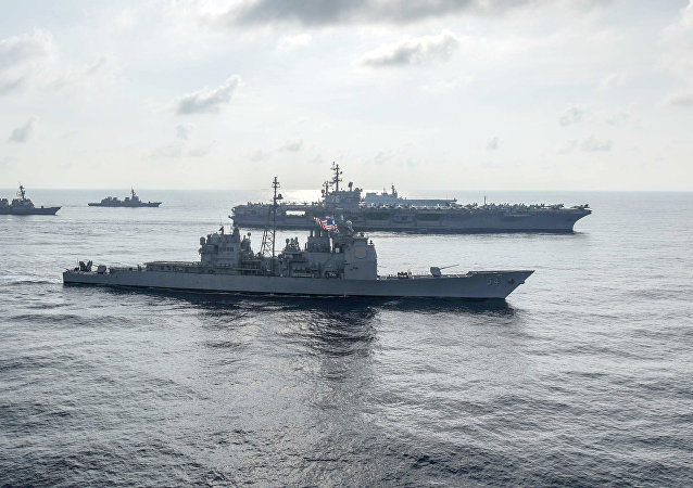 中國外交部:中方強烈不滿兩艘美國軍艦11日擅進南沙群島海域