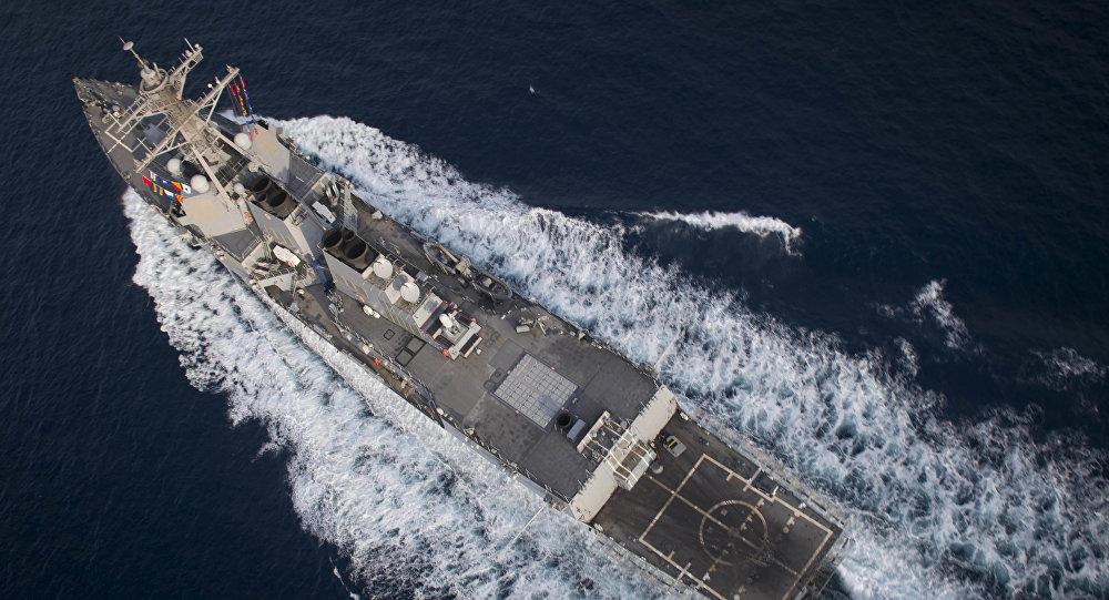中方希望美方不要在南海问题上⽆事生⾮