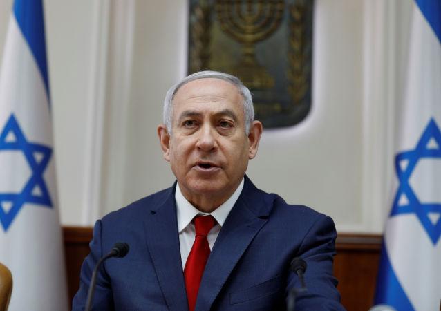 以色列总理宣布右翼阵营赢得议会选举胜利