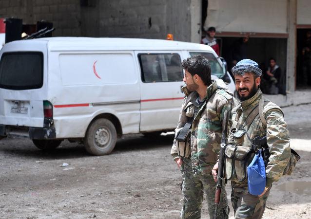 叙利亚卡米什利发生汽车爆炸 造成人员伤亡