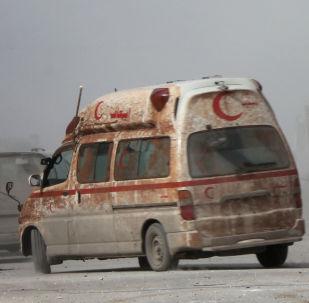 外媒:叙利亚大巴车装上地雷导致至少24人死亡