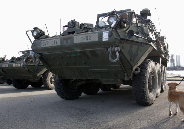 美國裝甲輸送車 Stryker