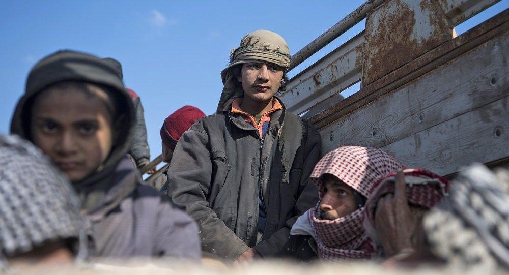 以美为首国际联军正在分析有关空袭叙村庄致平民死亡的消息