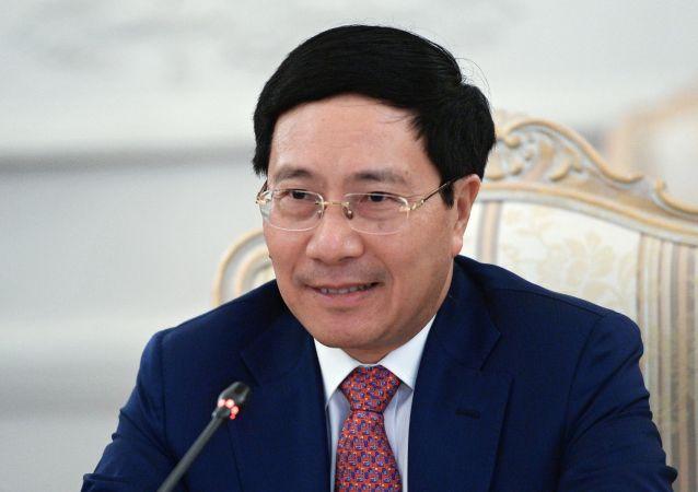 越南副總理兼外長範平明(圖片資料)