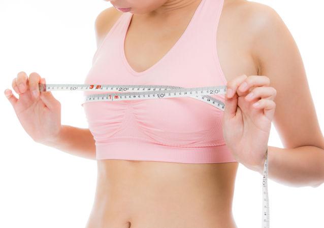调查:日本女性平均胸围呈上涨趋势