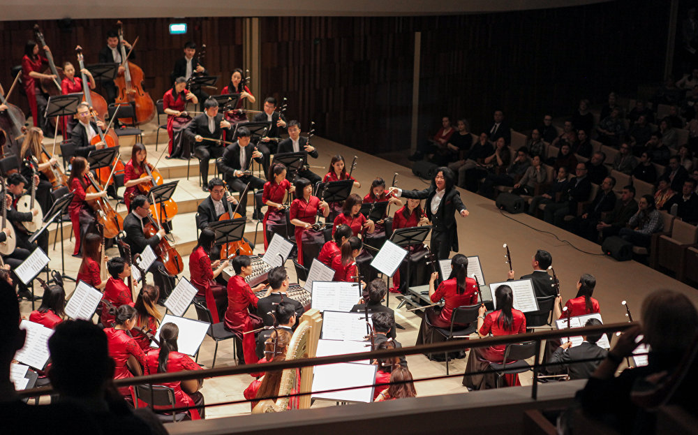 """中国音乐家在""""扎里亚季耶""""音乐厅"""