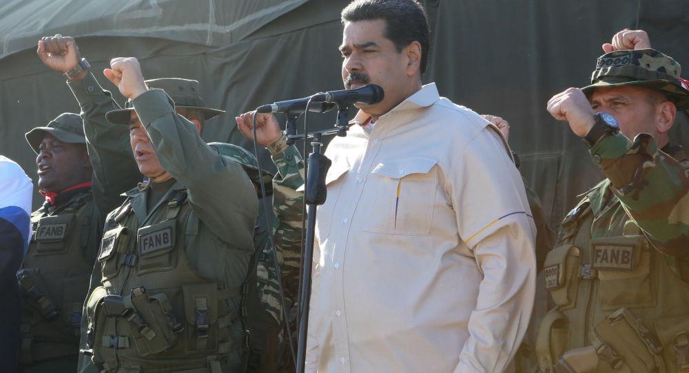 马杜罗宣布建立军事机构保护委社会设施