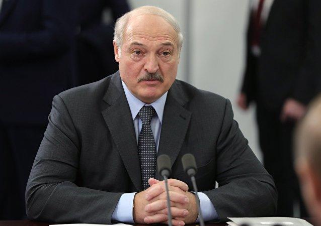 白俄羅斯總統盧卡申科