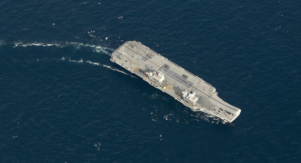 英国为何向南中国海派遣航母?