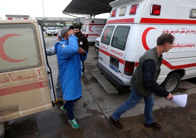 伊拉克救护车(资料图片)