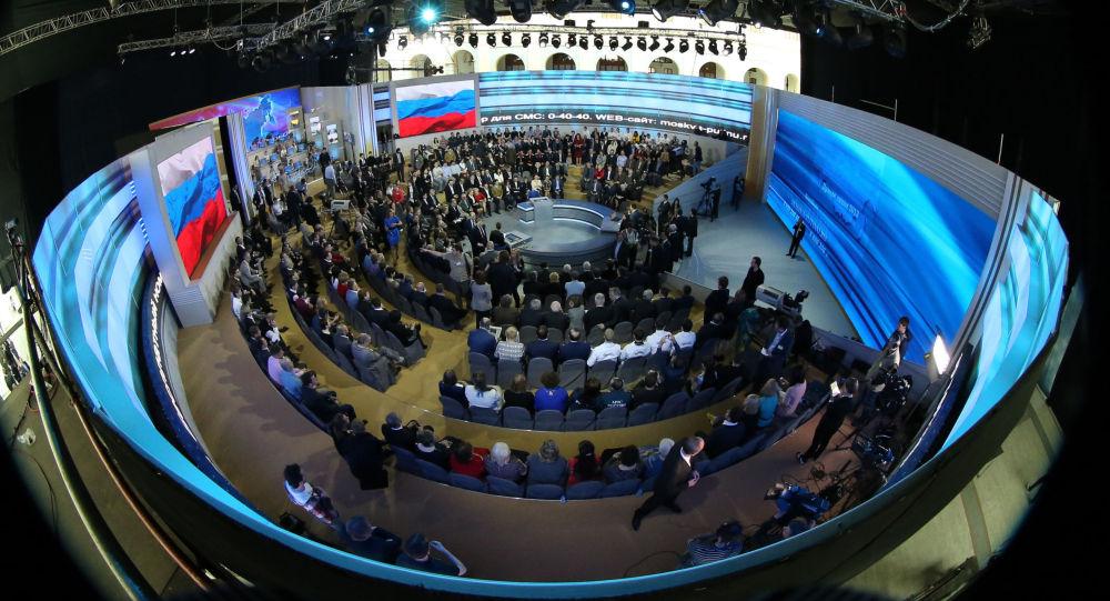 普京将在莫斯科商栈展览中心向联邦会议发表国情咨文