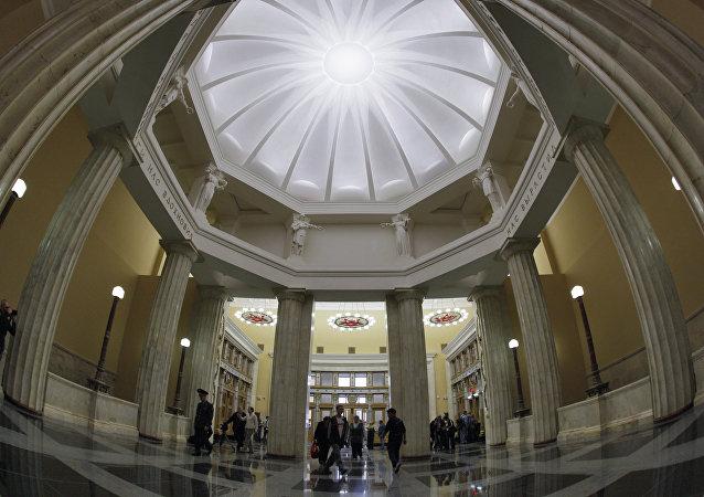 莫斯科库尔斯克地铁站大厅
