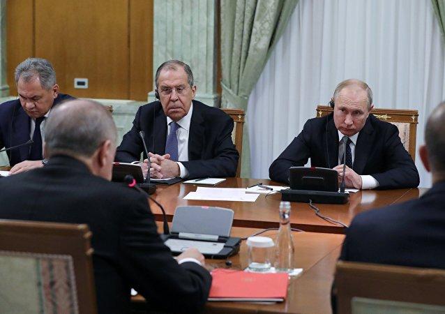 普京:下一轮叙问题阿斯塔纳和谈将于三月底或者四月初举行