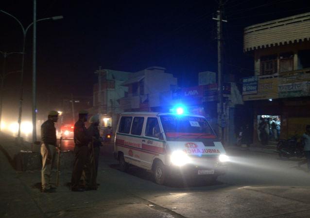 印度救护车(资料图片)