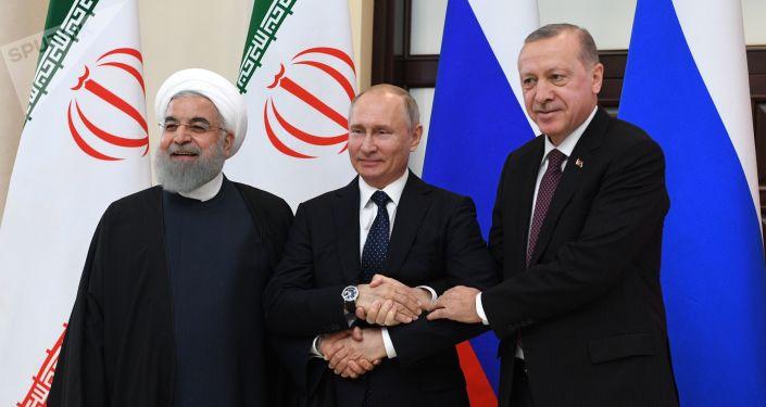 普京:俄土伊呼吁国际社会和联合国增加对叙利亚的援助