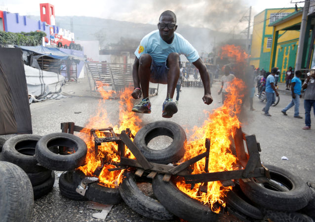海地骚乱已致七人死亡
