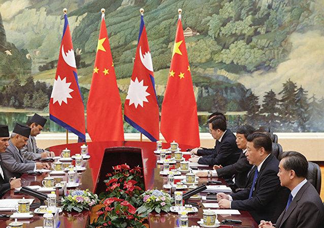 中國將幫助尼泊爾成為海洋國家
