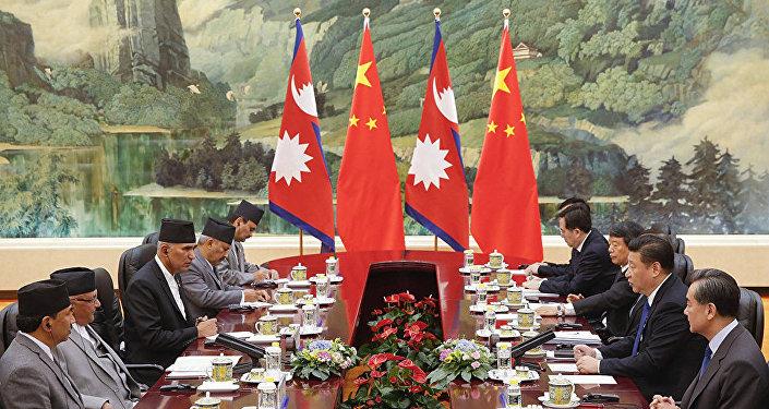 中国将帮助尼泊尔成为海洋国家