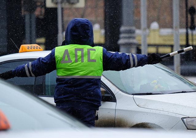 俄罗斯交通警