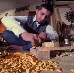 巴基斯坦藝術家用鉛筆打造藝術